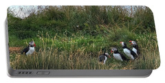 Puffins - Iceland Portable Battery Charger