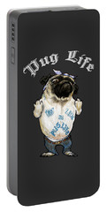 Pug Life Portable Battery Charger