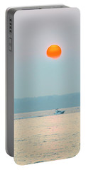 Puget Sound Under The Heavy Smoke Portable Battery Charger