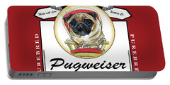 Pugweiser Beer Portable Battery Charger