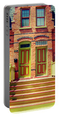 Pullman National Monument Row House Portable Battery Charger by Kyle Hanson