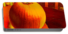 Pumpkin #4 Portable Battery Charger