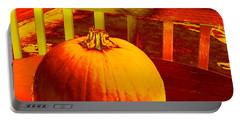Pumpkin #4 Portable Battery Charger