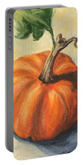 Pumpkin Everything Portable Battery Charger