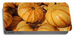 Pumpkin Harvest Portable Battery Charger