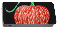 Pumpkin Portable Battery Charger