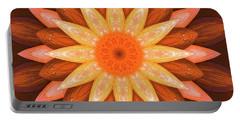 Pumpkin Mandala -  Portable Battery Charger
