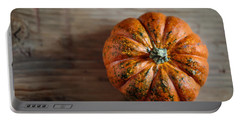 Pumpkin Portable Battery Charger by Nailia Schwarz