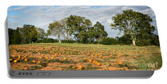 Portable Battery Charger featuring the photograph Pumpkin Patch by Todd Blanchard
