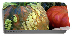 Pumpkin Pleasers Portable Battery Charger by Patricia E Sundik