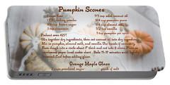 Pumpkin Scones Recipe Portable Battery Charger