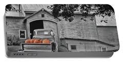 Pumpkin Truck Portable Battery Charger
