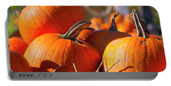 Portable Battery Charger featuring the photograph Pumpkins 2 by Sharon Talson