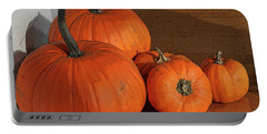 Pumpkins Portable Battery Charger