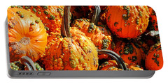 Pumpkins With Warts Portable Battery Charger