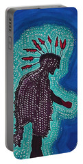 Punk Shaman Original Painting Portable Battery Charger