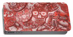 Punks Of Skull Love Portable Battery Charger