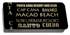 Punta Cana Famous Landmarks Portable Battery Charger