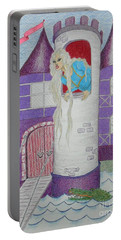 'punzel -- Portrait Of Storybook Character Rapunzel Portable Battery Charger