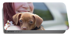 Puppy And Smiles Portable Battery Charger