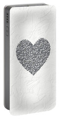 Portable Battery Charger featuring the digital art Pure Love by Linda Prewer