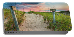 Portable Battery Charger featuring the photograph Pure Michigan Sunset by Sebastian Musial