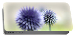Purple Allium 2 Portable Battery Charger