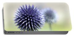 Purple Allium 3 Portable Battery Charger