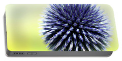 Purple Allium 4 Portable Battery Charger by Jimmy Ostgard