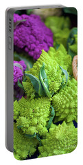 Purple And Romanesco Cauliflower Portable Battery Charger