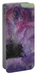 Purple Anemone 2 Portable Battery Charger by Marna Edwards Flavell