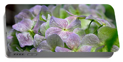 Purple Beauty Portable Battery Charger by Tanya Searcy