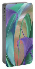 Purple Calla Lilies Portable Battery Charger