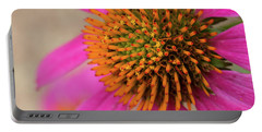 Purple Coneflower, Echinacea Purpurea Portable Battery Charger