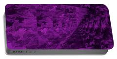Purple Corridor Portable Battery Charger