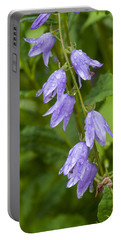 Purple Dew Drops Portable Battery Charger