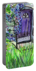 Purple Doorway Portable Battery Charger