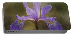 Purple Flag Iris Portable Battery Charger