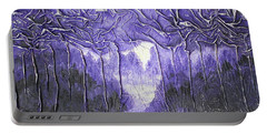 Purple Forest Portable Battery Charger