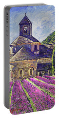 Purple Gardens Provence Portable Battery Charger