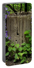 Purple Garland Portable Battery Charger