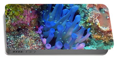 Purple Giant Sea Anemone Portable Battery Charger