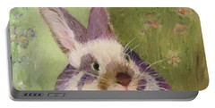 Purple Hare Portable Battery Charger