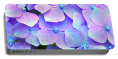Purple Hydrangeas Portable Battery Charger
