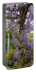 Purple In Priory Park Portable Battery Charger