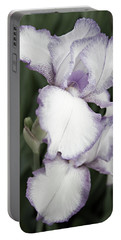Purple Is Passion Portable Battery Charger by Sherry Hallemeier
