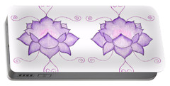 Purple Lotus II Portable Battery Charger