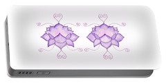 Purple Lotus II Portable Battery Charger