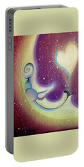 Purple Moon Portable Battery Charger