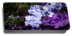 Purple Moss Portable Battery Charger